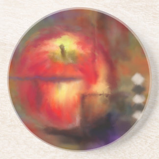 Love at First Bite Sandstone Coaster