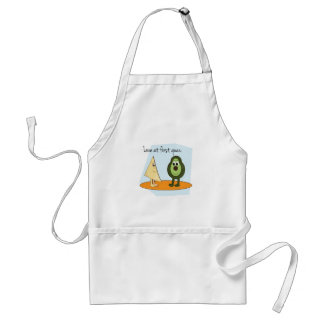 Love At First Guac. Adult Apron