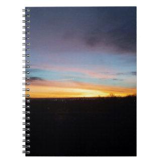 Love at first light notebook