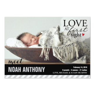 Love at First Sight | Baby Announcement