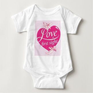 love at first sight baby bodysuit