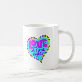 Love At First Sight Classic White Coffee Mug