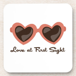 Love At First Sight Beverage Coasters