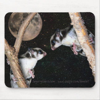 Love at First Sight - cutest sugar glider series Mouse Pad