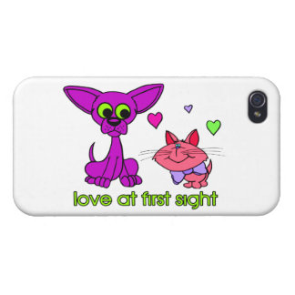 Love At First Sight iPhone 4 Cover