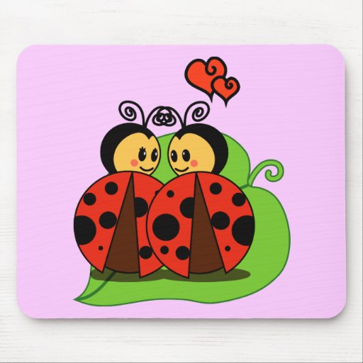 Love at first sight mouse pad