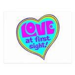 Love At First Sight Postcard