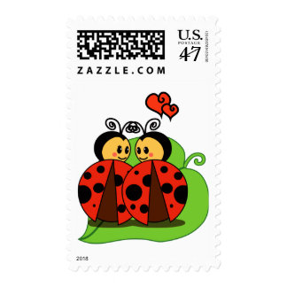 Love at first sight stamp