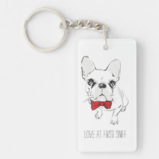 """""""Love at First Sniff"""" Keychain"""