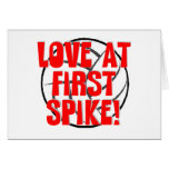 Love at First Spike! Greeting Cards