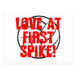 Love at First Spike! Postcard