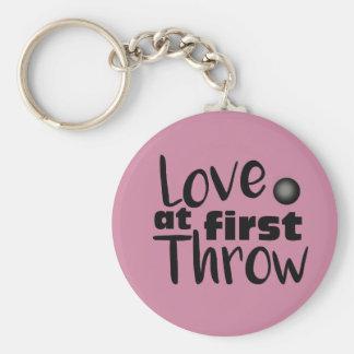 Love at First Throw, Shot Put Throw Keychain
