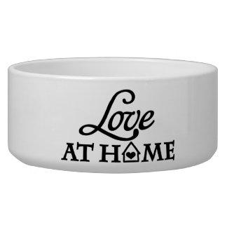 Love at home dog bowls