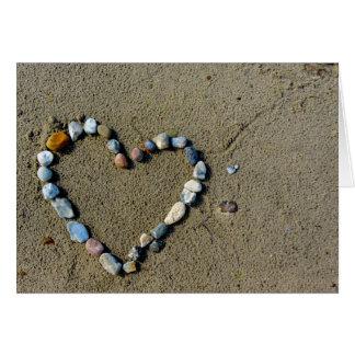 Love at the Beach Card