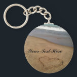 "Love at the Beach Keychain<br><div class=""desc"">Give this keychain to someone you love and enjoy :)</div>"