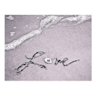 Love at the water's edge postcard