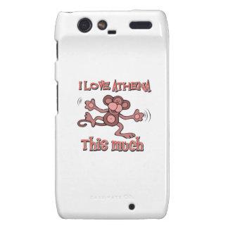 love ATHENA Motorola Droid RAZR Cover