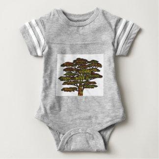 love attributes baby bodysuit
