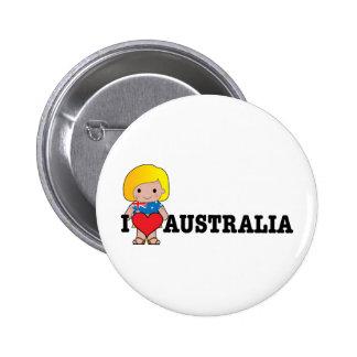 Love Australia Buttons