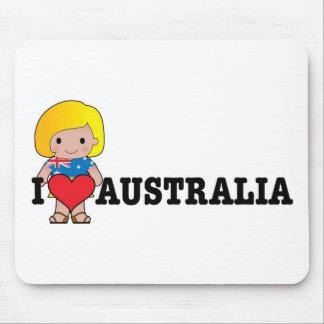 Love Australia Mouse Mat
