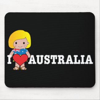 Love Australia Mouse Mats