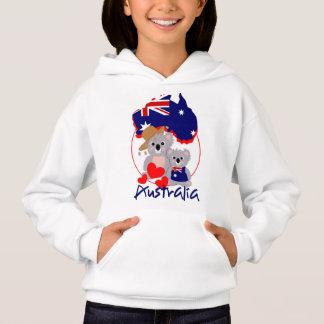 Love Australian koala Bears Super Cute Graphic Hoodie