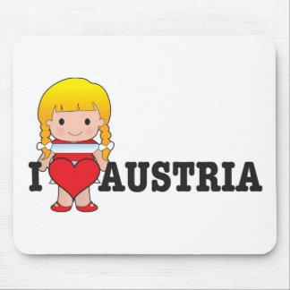 Love Austria Mouse Mat
