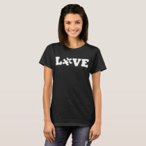 Love Autism Awareness Autistic Child Mom Dad Siste T-Shirt
