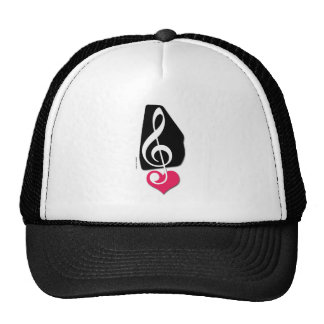 Love Autoharp Music Trucker Hat