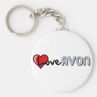 Love AVON Keychain