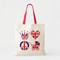 Love, Baby, Crown Tote Bag
