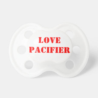 LOVE BABY PACIFIER