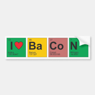 Love Bacon Sticker