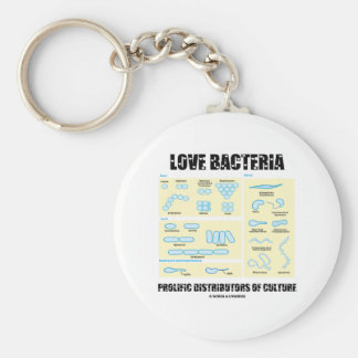 Love Bacteria Prolific Distributors Of Culture Basic Round Button Keychain