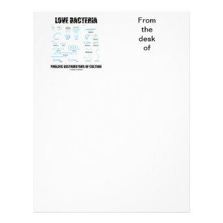 Love Bacteria Prolific Distributors Of Culture Letterhead Template