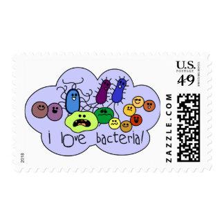Love Bacteria Stamp