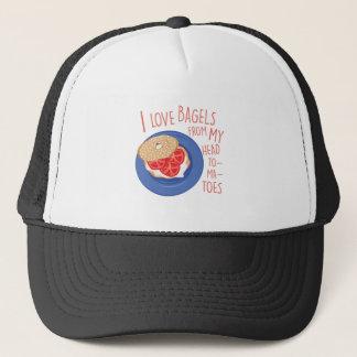 Love Bagels Trucker Hat