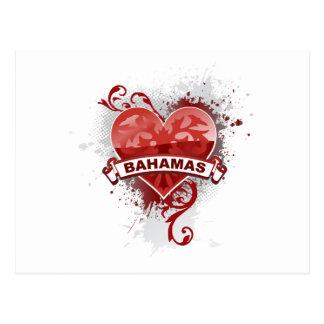 Love Bahamas Postcard