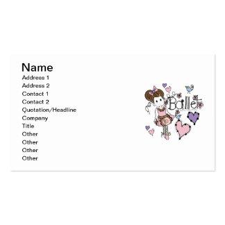 Love Ballet Business Card Templates
