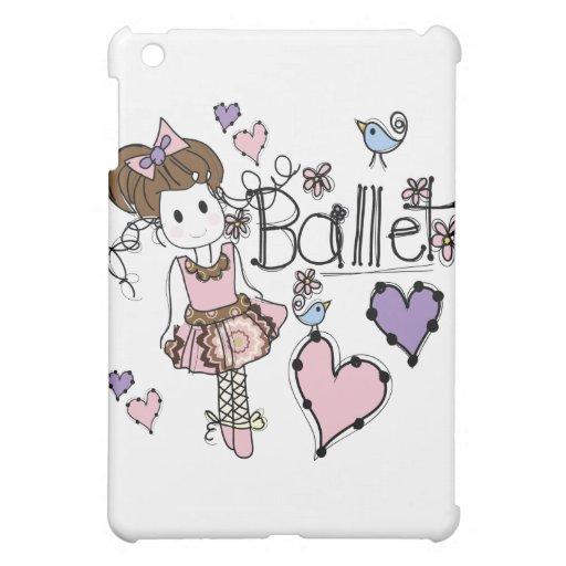 Love Ballet iPad Mini Cases