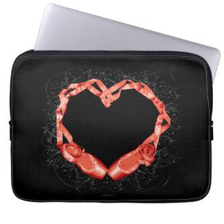 Love Ballet Laptop Computer Sleeve