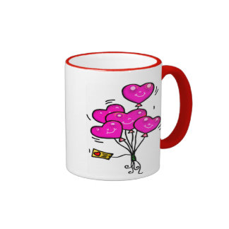 Love Balloon Mug