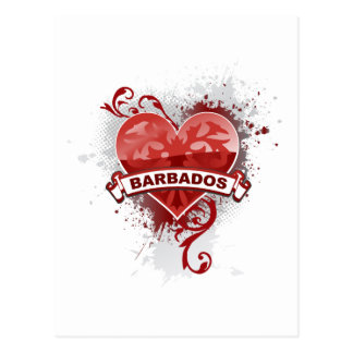 Love Barbados Postcard