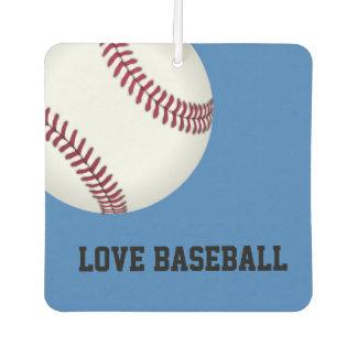 Love Baseball Air Freshner Car Air Freshener