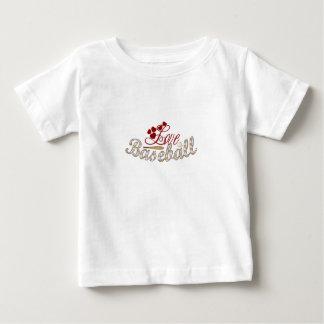 Love Baseball Baby T-Shirt