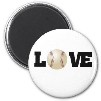 Love (Baseball) Magnet