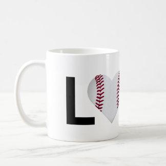 Love Baseball Mug (Baseball Heart)