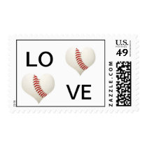 Love Baseball Postage