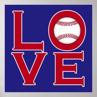 LOVE: Baseball Poster