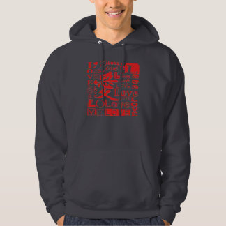Love - Basic Hooded Sweatshirt